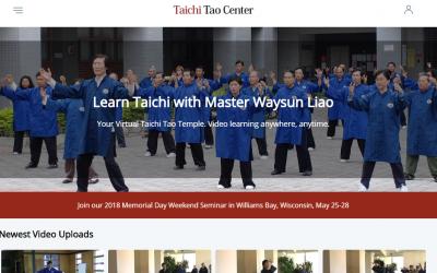 New Taichitao.tv Streams Master Waysun Liao on Video Worldwide!